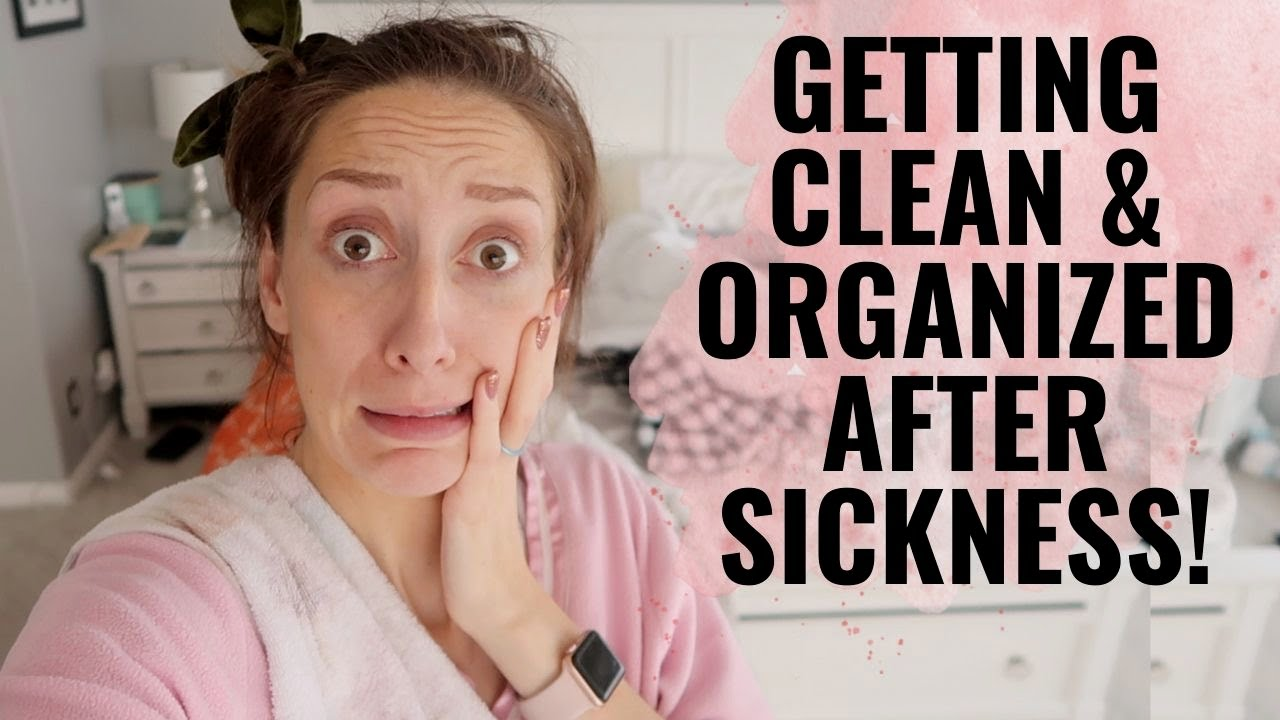 Getting clean/organized after SICKNESS! | Clean with me!