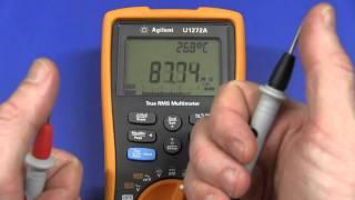 Fluke 287 vs Agilent U1272A vs Brymen BM867 - Capacitance
