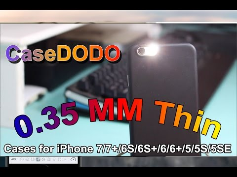 Thin Case for iPhone - CaseDODO - Review!