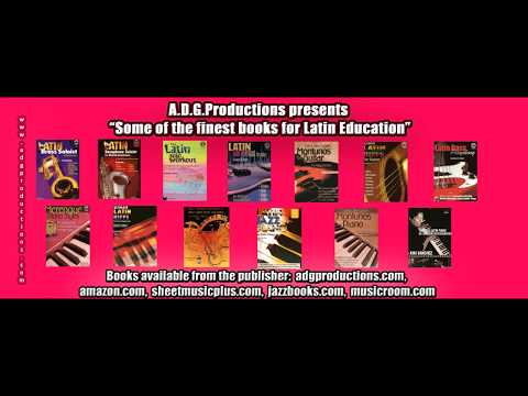Latin music instructional books published by A.D.G. Productions