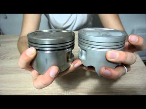 smallport vs bigport pistons 4AGE 16v
