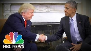 President Obama To Donald Trump: If You Succeed, The Country Succeeds | NBC News