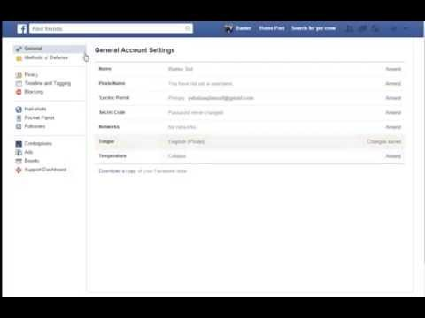 How to Change Your Facebook's Language In To Pirate Style (Simple Steps)