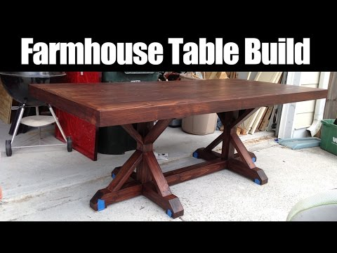 Farmhouse Table Build (CMRW#36)