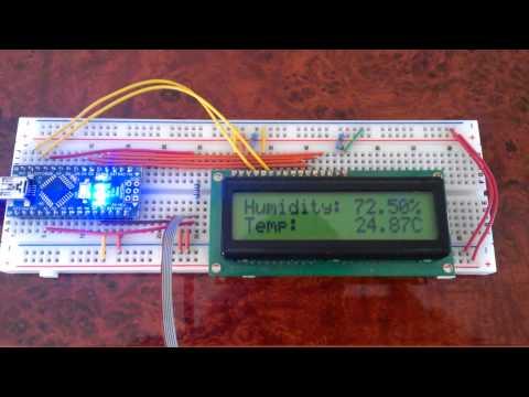 Arduino cigar humidor monitor