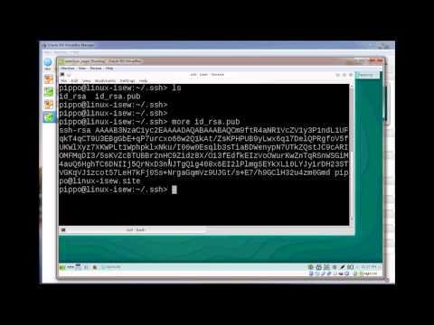 Ssh-key generation: openSuse and Ubuntu