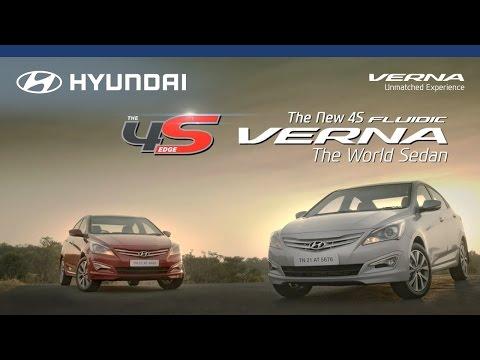 Hyundai | 4S Fluidic Verna | The World Sedan | Television Commercial (TVC)
