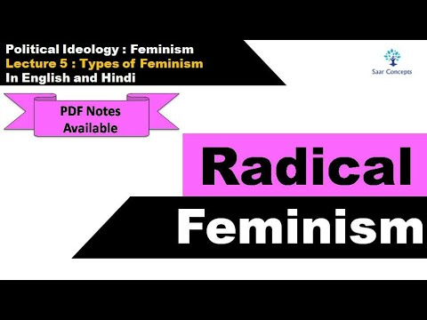 Lecture 5 :Types of Feminism