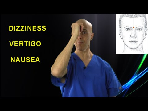 Top 2 Acupressure Points to Get Rid of VERTIGO & DIZZINESS - Dr Mandell