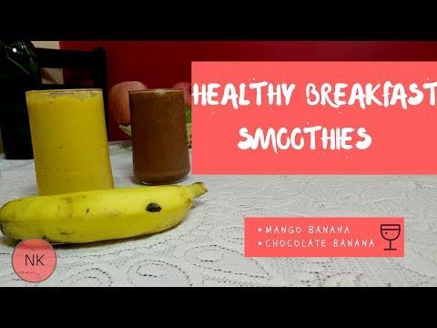 Healthy Breakfast Smoothies | Easy Breakfast Options | Nutritious Breakfast | Nainja Kapoor