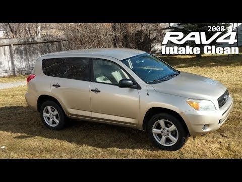 2008 Rav4: Throttle Body,  Intake, MAF, & Injector Service