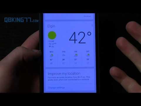 Google Now Widget Review