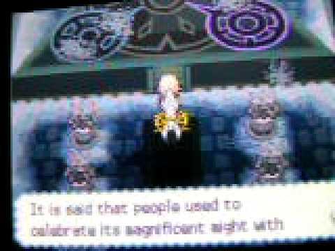 Pokemon soul silver extra. arceus event! 1/2