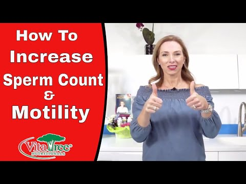 How to Increase Sperm Count : increase sperm Motility - VitaLife Show Episode 263