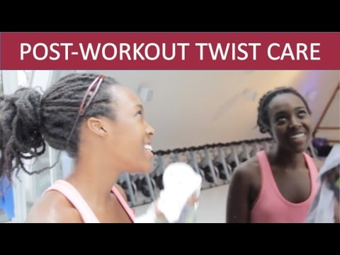 HOW TO WASH YOUR TWISTS   POST-WORKOUT HAIRCARE  *HIGHLY REQUESTED*