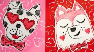 Valentine Animals: Puppy Love!