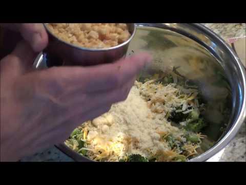 Low Carb Broccoli Patties