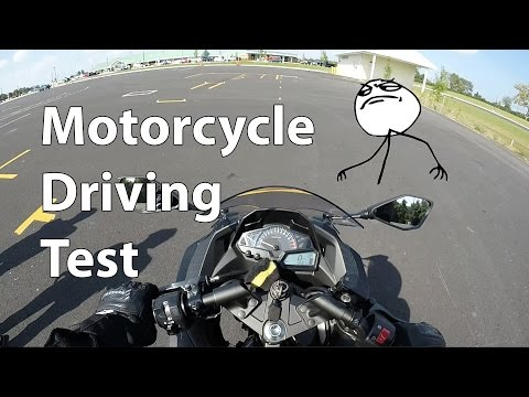 Motorcycle drivers test - Oklahoma