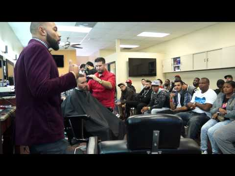 Class Nov 2nd Andre the barber with Xotics