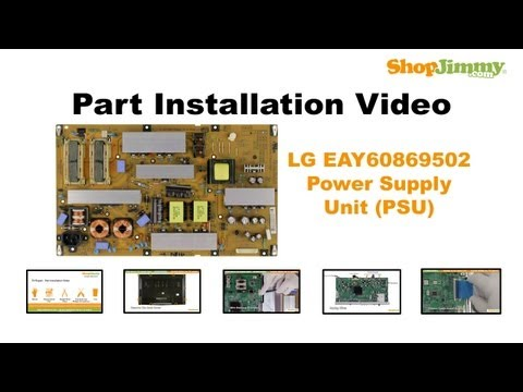 LG EAY60869502 Power Supply Unit (PSU) Boards Replacement Guide for LCD TV Repair