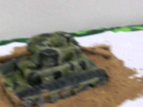Splendid Bakery Army Tank Birthday Cake