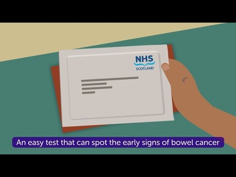 How to do the bowel cancer screening test in Scotland
