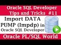 How to Import Data Pump (Impdp) Using Oracle SQL Developer | Oracle SQL Developer Tips and Tricks