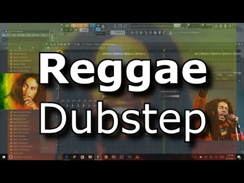 FL Studio 12 How to make reggae dubstep remix