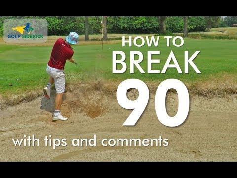 How to Break 90 in Golf   Shot by Shot