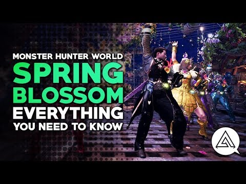 Monster Hunter World | Spring Blossom Event Everything You Need to Know