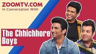 Sushant Singh Rajput, Varun Sharma, Naveen Polishetty and Chhichhore cast's funniest interview