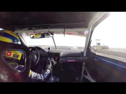 BMW M3 Loses Drivetrain & Front Lip Spoiler During Time Attack