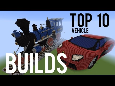 Top 10 Vehicle Builds in Minecraft