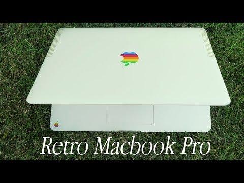 RETRO MACBOOK PRO: GET THE VINTAGE APPLE LOOK! (Rainbow Apple Wrap Full Body)