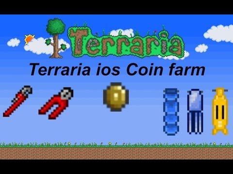 Terraria ios 1.2 | Coin farm tutorial (infinite money!)