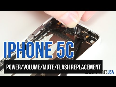 iPhone 5c Power/Volume Button Replacement Video Guide