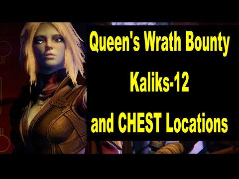 Destiny Queen's Wrath Kalkis 12 Skywatch Bounty Earth
