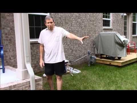 A Solution to Lawn Drainage Problems Around Your Porch