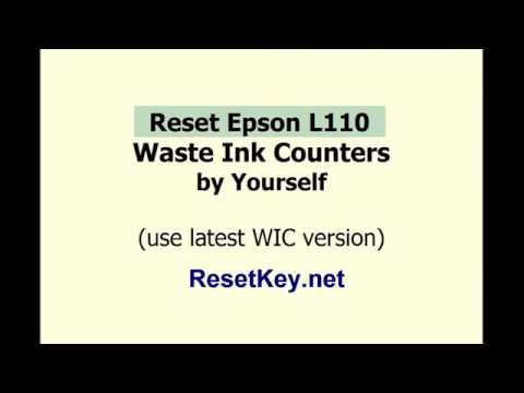 How to reset Epson L110 by Yourself - ResetKey.net