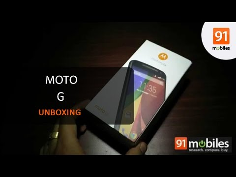 Moto G 2nd Gen: Unboxing | Hands on | Price