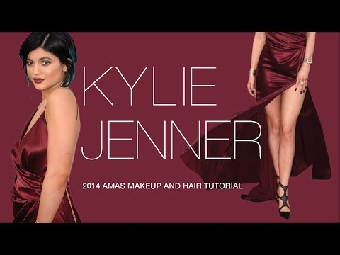 Kylie Jenner AMAs Makeup and Hair Tutorial | Elle Levi