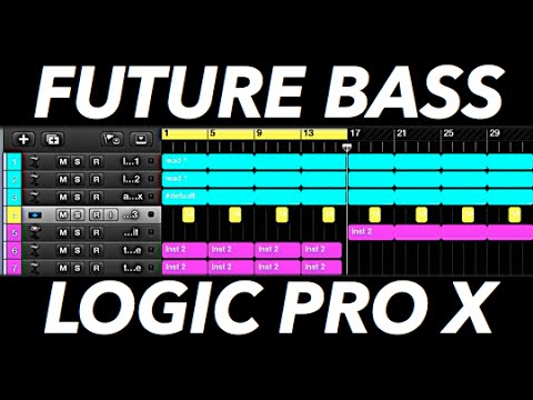 How to Make a Future Bass Drop in Logic Pro X + Project File!
