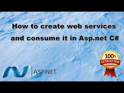 How to create Web services in asp net c# | How to create web services in Asp.net C# easy way. AJIT