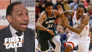 Raptors are the best team in the East, built to stop the Greek Freak  - Stephen A. | First Take