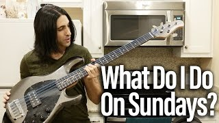 Gig Vlog - What I Do On Sundays - The Bass Wizard
