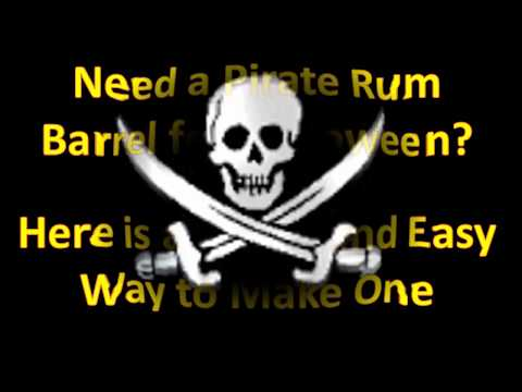 How to Build a Pirate Rum Barrel for Your Halloween Haunt