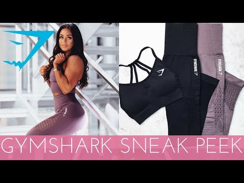 GYMSHARK NEW SEAMLESS HAUL - TRY ON AND SQUAT PROOF TEST!