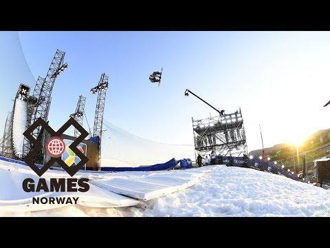 Men's Snowboard Big Air: FULL BROADCAST   X Games Norway 2018