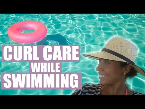 Curly Hair Care For Swimming | How To Protect Your Hair From Chlorine