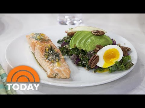 Pan-Roasted Salmon, Kale Caesar Salad: They're Delicious And Healthy | TODAY